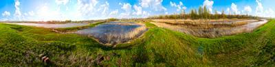 Летняя панорама природа лето