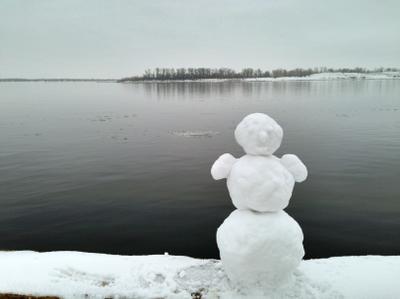 Снеговик с Нижнего Тракторного Snowcollection galitsin volga галицын НижнийТракторный НТ снежнаяколлекция снеговик подводнаяохота