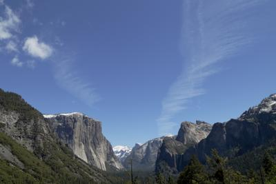 Крылья гор Yosemite National Park California USA