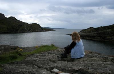 *** шотландия скай гебридское море океан