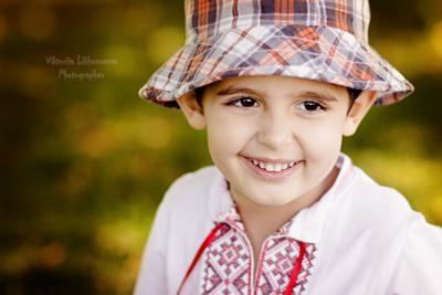 Глазастик портрет мальчик лето
