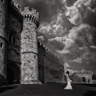 Королева по защитой туры родос Дворец Великих Магистров Неоромантика