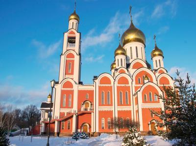 Храм Святого Великомученика Георгия Победоносца в Одинцово Россия Одинцово Московская область Храм