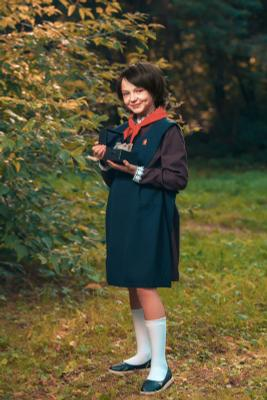 Алиса Селезнёва гостьяизбудущего девушка портрет фото алисаселезнева косплей советскоекино