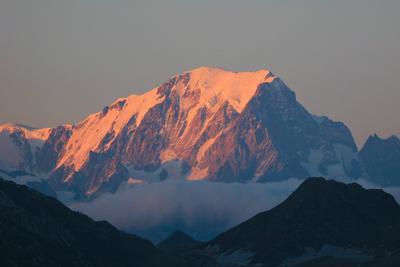 ***тот Самый Монблан Куршевель горы Альпы