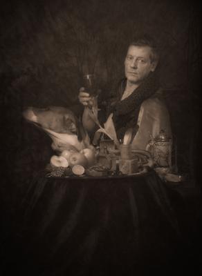 The youngest brother of Pieter Bruegel de Oude. Portrait