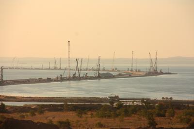 Строительство крымского моста Крымский мост тамань керченский порлив