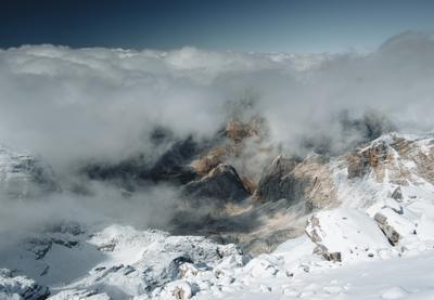 Вид с вершины Майа Эзерца