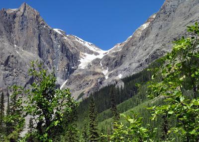 где лето встречается с зимой лето горы ледник