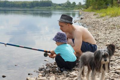 Обучение примудростям рыбалки