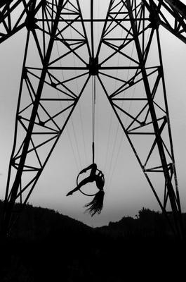 Кристина воздушная гимнастика