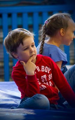 мысли.. зал дети игра мысли