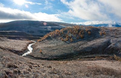 Серебрянная река