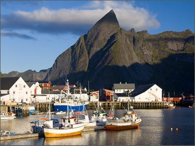 У причала Lofoten Norway