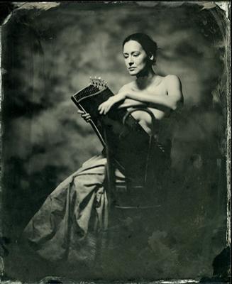 Портрет Ольги с цитрой