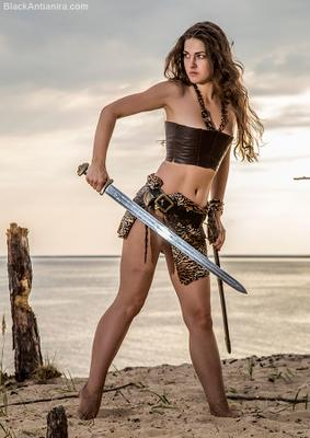 *** девушка воин амазонка