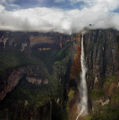 Angel водопад анхель венесуэлла