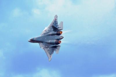 Су-57 Жуковский МАКС 2021