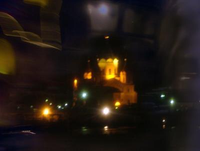 ночь глазами испуганного пассажира заблудившегося трамвая