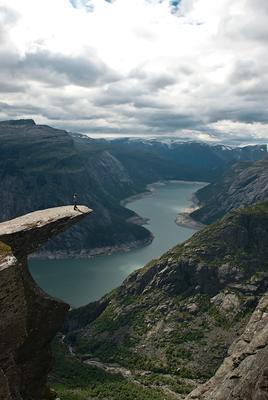 93. trolltunga Norway Trolltunga