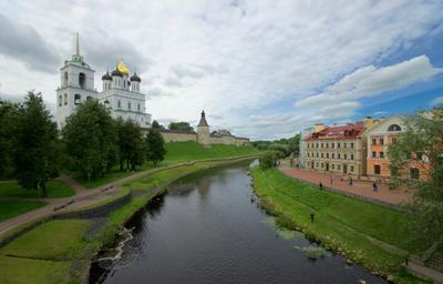 Псков в середине июля. Псковская область