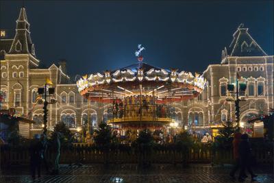 Москва новогодняя (5) Новый год Рождество Москва город