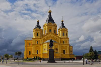 Храм Александра Невского Нижний Новгород