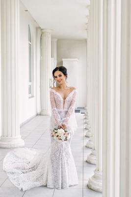 маленькая Италия свадебное платье ведущие организаторы свадеб свадебный букет