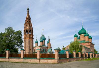 Ансамбль церквей в Коровниках Ярославль
