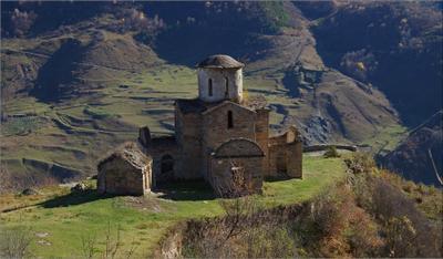 Сентинский храм Теберда Сенты