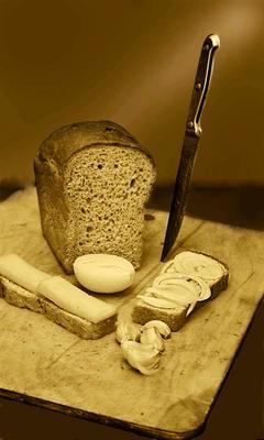 Два бутерброда Хлеб сыр