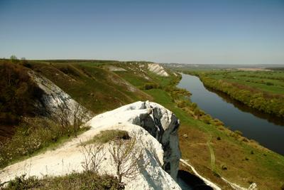 Дон-река амазонок Степь Дон река холмы