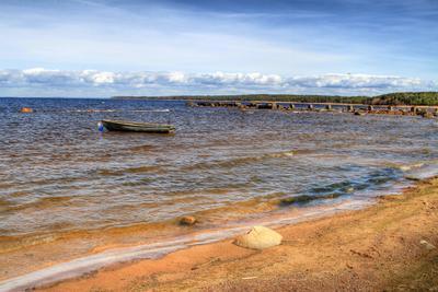 Лодочка Финский залив