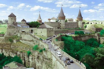 Там где водятся приведения и мечты Каменец Подольский замок Украина путешествие дорога мост город лето отпуск старинный