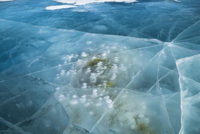 Лёд Байкала... байкал малое море лед февраль