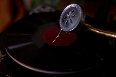 music on граммофон