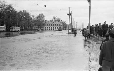 Наводнение  в Ленинграде1967