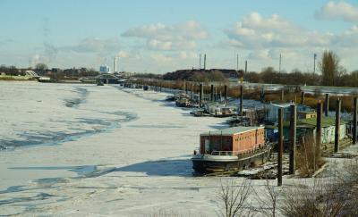 Морозы на Spree Hafen
