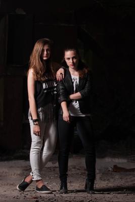 Sister of rock Портрет Рок Постановка Жанровая