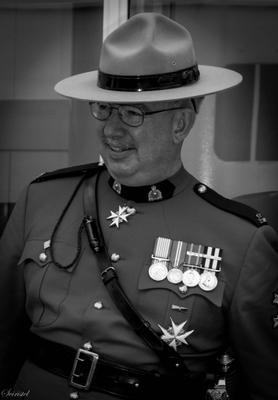 Служивый офицер Канада полиция RCMP