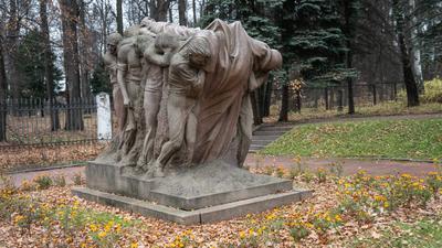 Траурная аллея аллея траурная музей горки ленинские