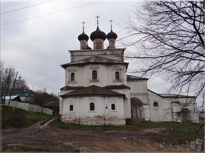 Воскресенская церковь город Гороховец церковь