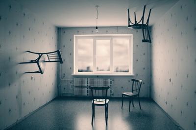 4 решения комната, стул, стулья, окно, комп. искусство, интерьер