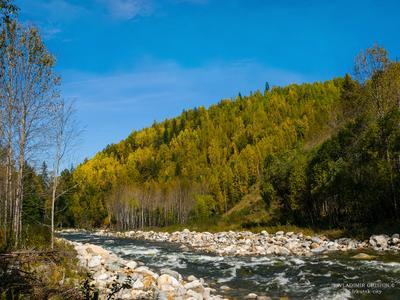 *** Солзан река фото осенью реки Хамар-Дабана