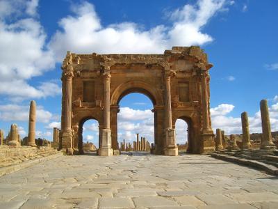 Арка Трояна. Алжир Арка город