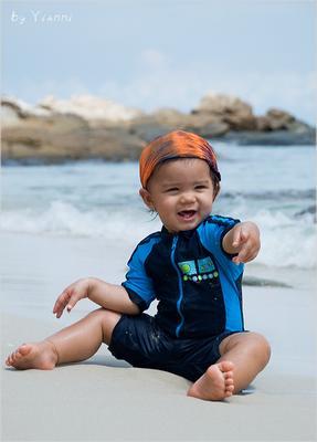 Хей, я вас знаю! тайка тайцы Таиланд девочка малышка дети Kho Samet модель остров Самет
