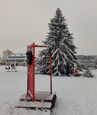 Новогодний Раквере.Эстония