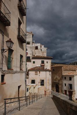 """Вне времени. Из серии """"Города цвета черепицы"""" Cuenca, España"""