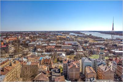 Вид на Московский форштад.Рига fitter36