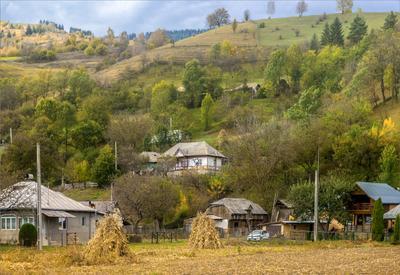 В румынских Карпатах (2) горы Карпаты осень